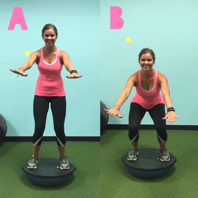 Bosu Ball Burpee Jump: Workout Wednesday: BOSU Strength Training